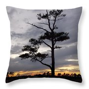Last Tree Standing Throw Pillow