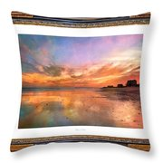 Lasting Moments Throw Pillow by Betsy Knapp