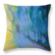 Late 1 Throw Pillow