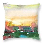 Late Afternoon 59 Throw Pillow