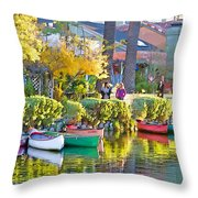 Late Afternoon Stroll Throw Pillow by Chuck Staley