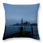 Late Evening In Venice Throw Pillow