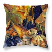 The Magic Of Autumn Throw Pillow