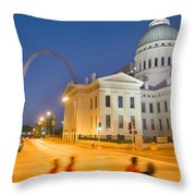 Late To The Game Throw Pillow