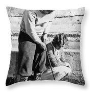 Latest In Novelty Golf Clubs Throw Pillow