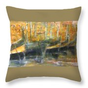 Latini At Rest In Mgarr Harbour Gozo Throw Pillow