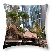 Lau Pa Sat Market 01 Throw Pillow