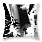 Laugher Inside Cries  Throw Pillow