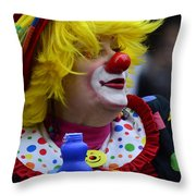 Laughter Bubbles  Throw Pillow