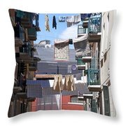 Laundry Ix Color Venice Italy Throw Pillow