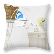 Laundry Room Throw Pillow