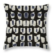 Laura Series Making Marks 545b1 Throw Pillow