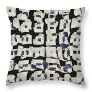 Laura Series Making Marks 545b2 Throw Pillow