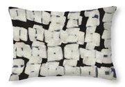 Laura Series Making Marks 545d1 Throw Pillow