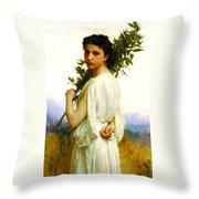 Laurel Branch Throw Pillow