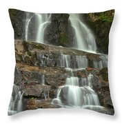 Laurel Falls Cascades Throw Pillow