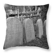 Laurel Hill Headstones Throw Pillow