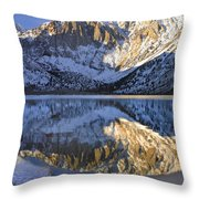 Laurel Mt And Convict Lake Sierra Throw Pillow