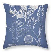 Laurencia Concinna And Hypnea Musciformis Throw Pillow by Aged Pixel