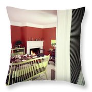 Laurens W. Macfarland's Dining Room Throw Pillow