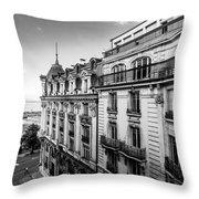 Lausanne City Throw Pillow