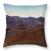 Lava Color Throw Pillow