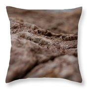 Lava Rock Landscape II Throw Pillow
