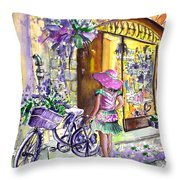Lavanda Di Venzone In Bergamo Throw Pillow