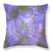 Lavender 5 Throw Pillow