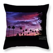 Lavender And Pink Throw Pillow