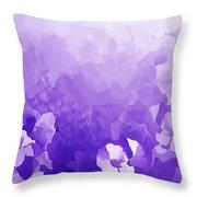 Lavender Fantasy Throw Pillow