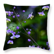 Lavender Mist Mobile Throw Pillow