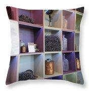 Lavender Museum Shop Throw Pillow