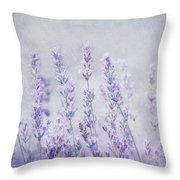 Lavender Romance Throw Pillow