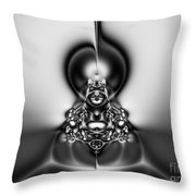 Law Of Superposition Throw Pillow by Peter R Nicholls