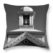 Lawrence Hall At Saint Cloud State University Throw Pillow