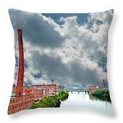Lawrence Ma Skyline Throw Pillow