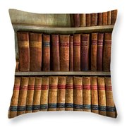 Lawyer - Books - Law Books  Throw Pillow
