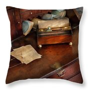 Lawyer - Important Documents  Throw Pillow by Mike Savad
