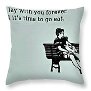 Lay Together Throw Pillow