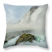 Layered Falls Throw Pillow