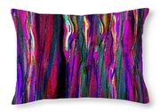 Layers Eleven  Throw Pillow