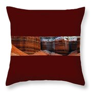 Layers Of Time Throw Pillow