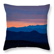 Layers - The Mojave IIi Throw Pillow