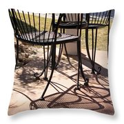 Lazy Afternoon Throw Pillow by Suzanne Gaff