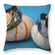 Lazy Days Of Fall Throw Pillow