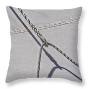 Lazy Jack-shadow And Sail Throw Pillow
