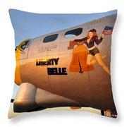 Liberty Belle Sunset Throw Pillow
