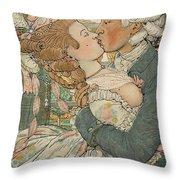 Le Baiser Throw Pillow