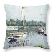 Le Bassin D'argenteuil Throw Pillow